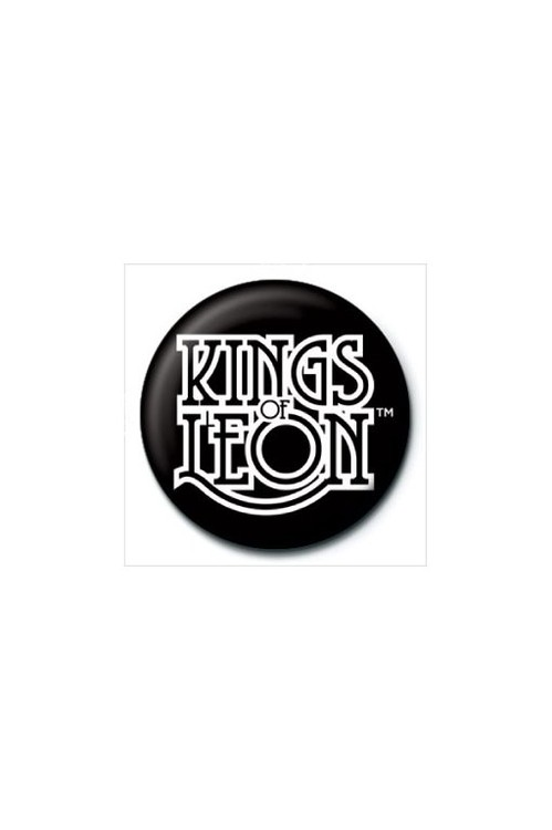 Button KINGS OF LEON - logo