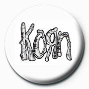 Button KORN - ASYLUM L OGO