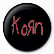 Button KORN - LOGO