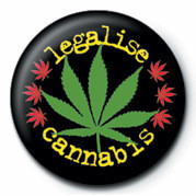 Button LEGALISE CANNABIS