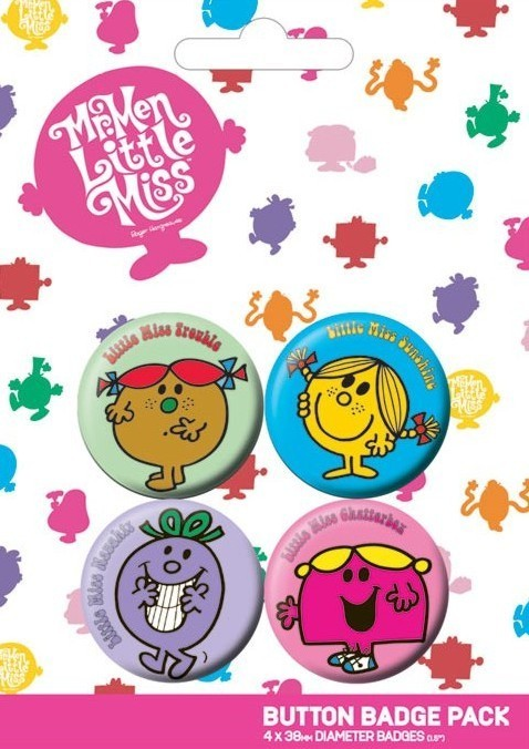 Button LITTLE MISS