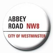 LONDON - abbey road Button