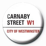 LONDON - carnaby street Button