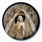 Button Luis Royo - White Angel