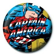Button MARVEL - captain america