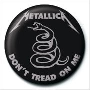 Button METALLICA - don't tread on me