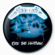 Button METALLICA - RIDE THE LIGHT
