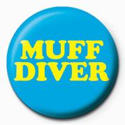 Button MUFF DIVER