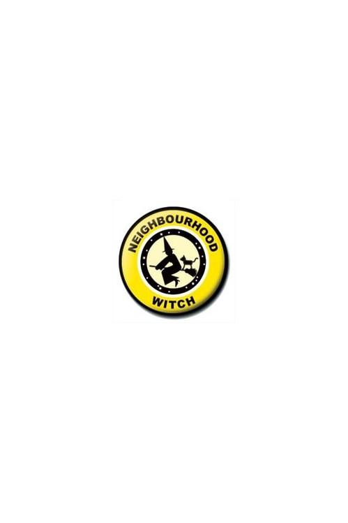 Button NEIGHBOURHOOD WITCH