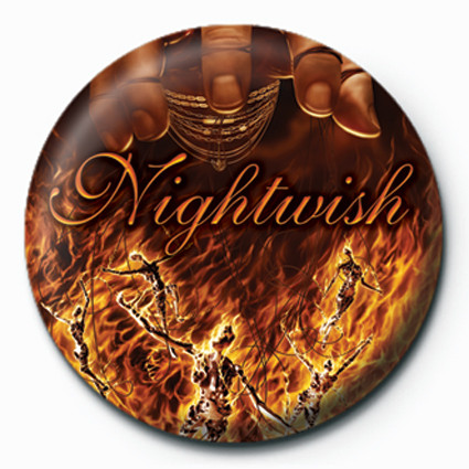 Button Nightwish-Master Passion G
