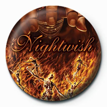 Button  Nightwish-Master Passion G
