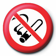 Button NO SMOKING