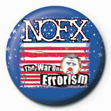 Button NOFX - WAR ON ERROISM