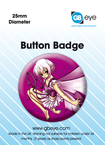 Button ODM PENSIVE FAIRY
