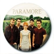 Button PARAMORE - band
