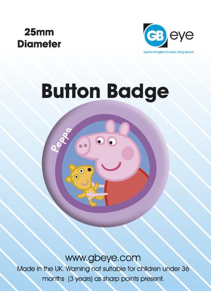 Button PEPPA PIG PEPPA