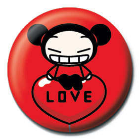Button PUCCA - balloon