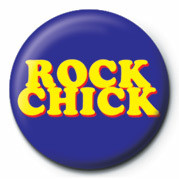 Button ROCK CHICK