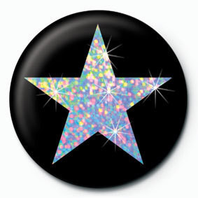 Button SILVER STAR
