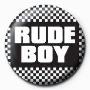 Button SKA - RUDE BOY