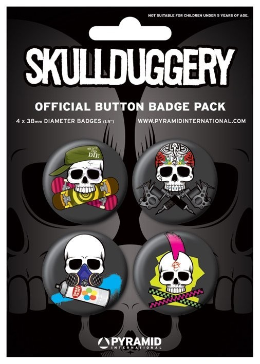 SKULLDUGGERY Button