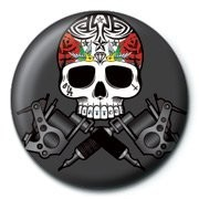 Button SKULLDUGGERY - tattoo