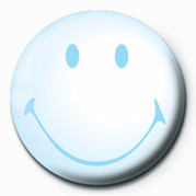 Button SMILEY - BUBBLE