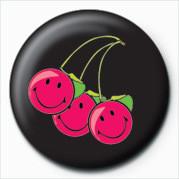 SMILEY - CHERRIES Button