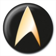 Button STAR TREK - black