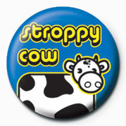 Button STROPPY COW