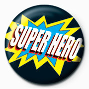 Button SUPER HERO