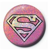 Button SUPERGIRL - shield