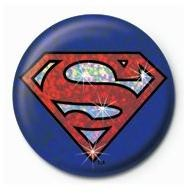 Button SUPERMAN - shield