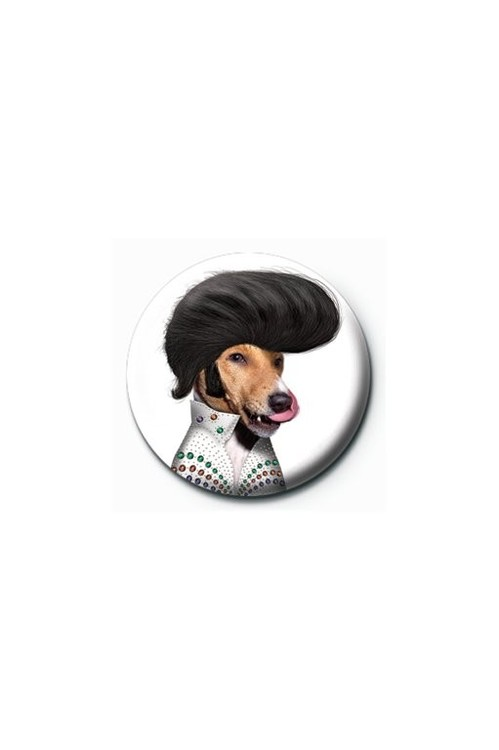 Button TAKKODA - elvis presley