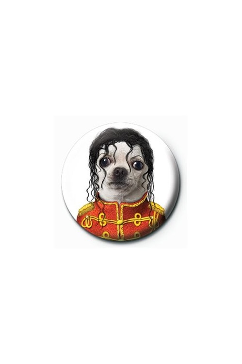 Button TAKKODA - michael jackson
