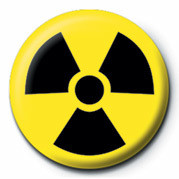 TOXIC WASTE (LOGO) Button