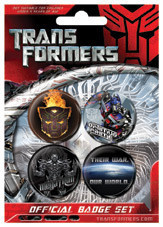 Button TRANSFORMERS - krieg