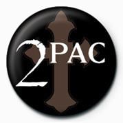 Button Tupac - Logo
