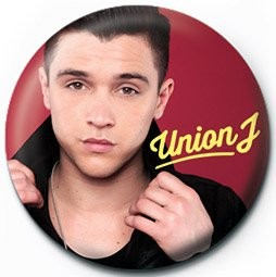 Button UNION J - jj