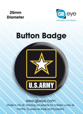 Button US ARMY