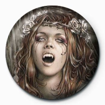 Button VICTORIA FRANCES - vampire