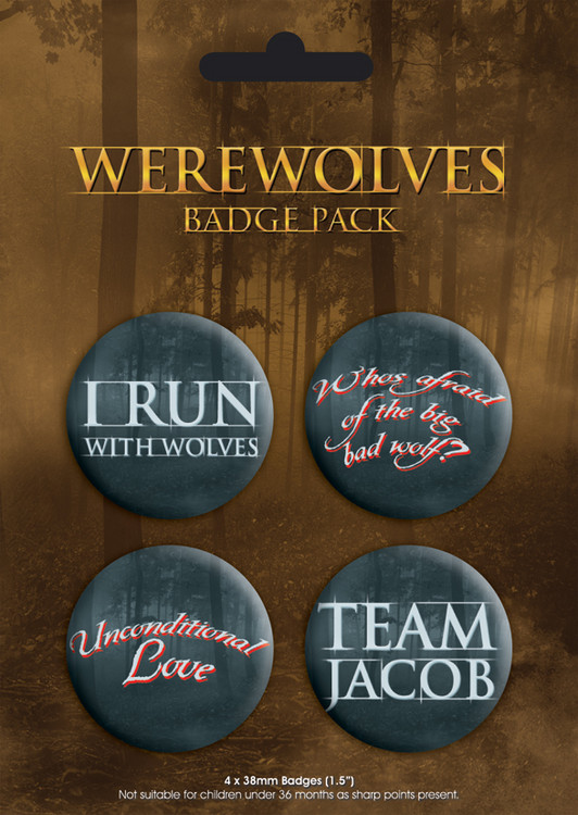 WEREWOLVES Button