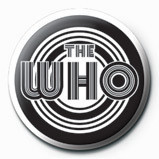 Button WHO - 70's logo