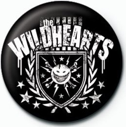 Button WILDHEARTS (CREST)