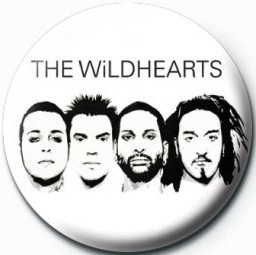 WILDHEARTS (WHITE) Button