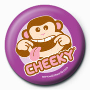 Button WithIt (Cheeky Monkey)