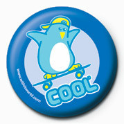Button WithIt (Cool Penguin)