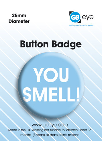 You Smell Button