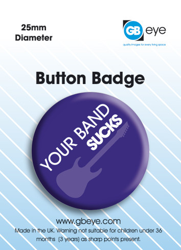 Button  Your band