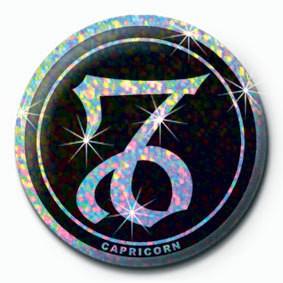 Button ZODIAC - Capricone